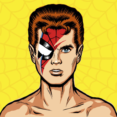 David Bowie Vector Art
