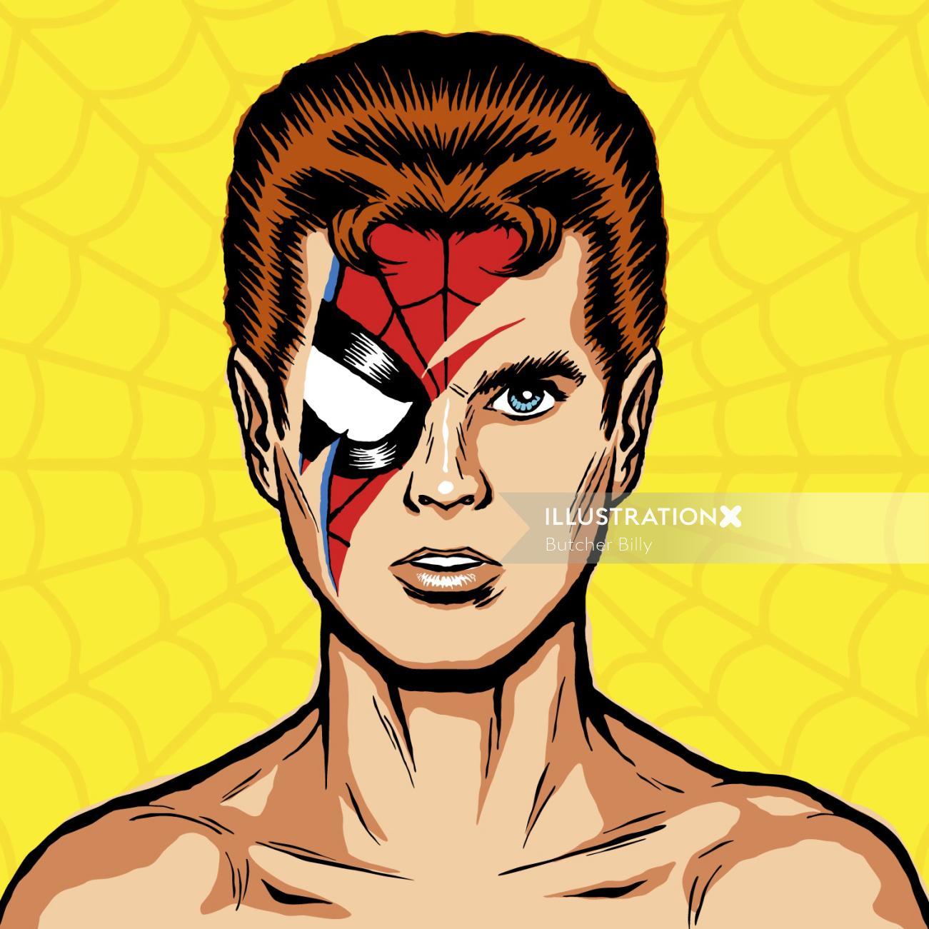 David Bowie Vector Art