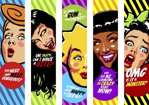 Graphic design women characters