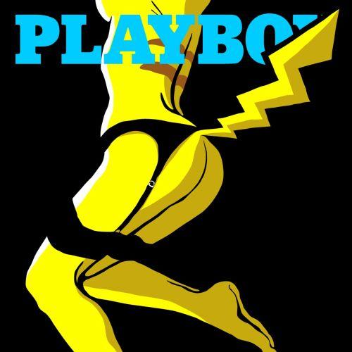 Graphic Playboy Pokemon