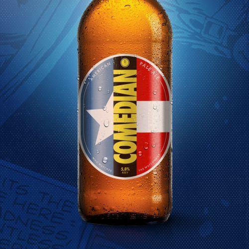 Beer comic book pop art