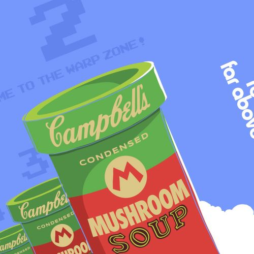 Campbells Graphic Food & Tin Can
