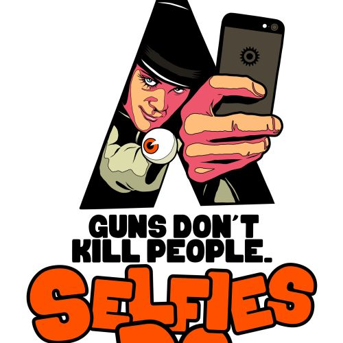 selfies do digital illustration