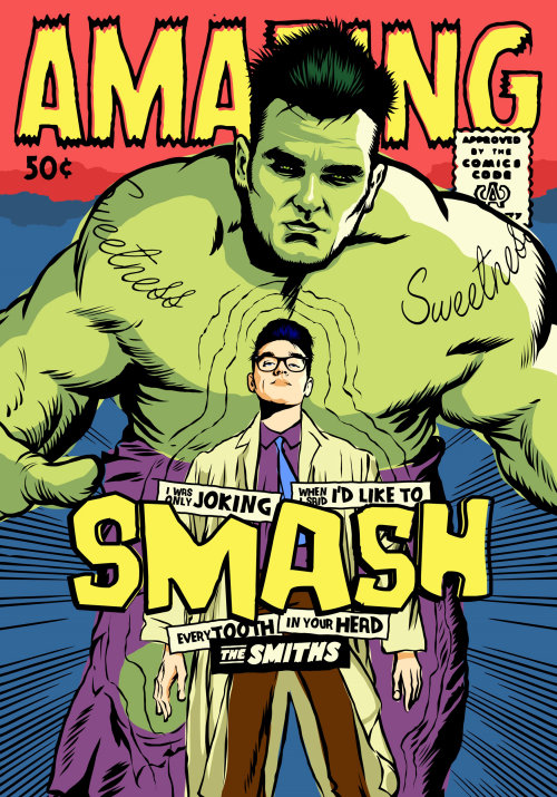 Pop culture art of Hulk