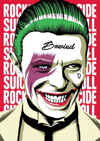 Joker art by Butcher Billy