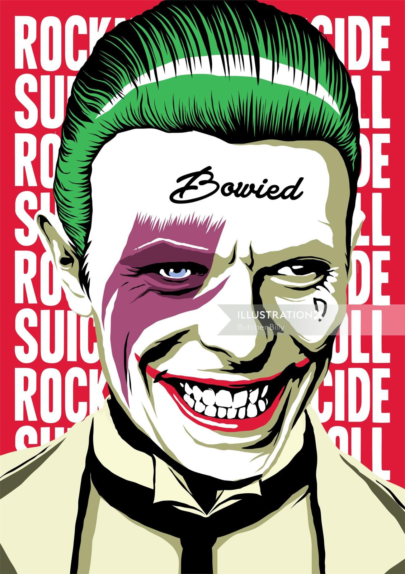 Joker art by Butcher Billy