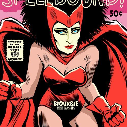 Spellbound woman illustration