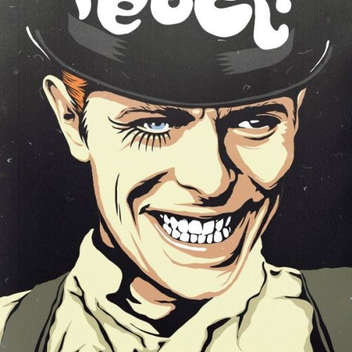 Vector Illustration of David Bowie