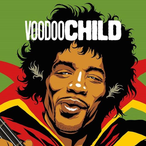 Retro art of Jimi Hendrix: Voodoo Child