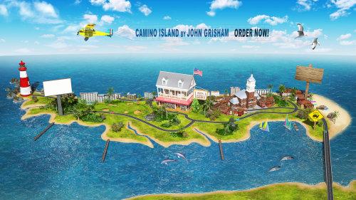3D CGI Rendu Camino Island