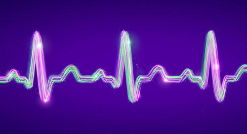 Rendu 3D / cgi battement de coeur