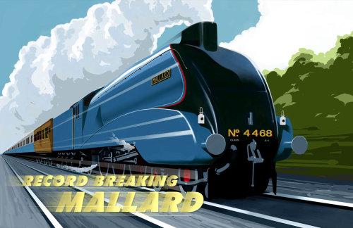 Train à grande vitesse 3D / CGI