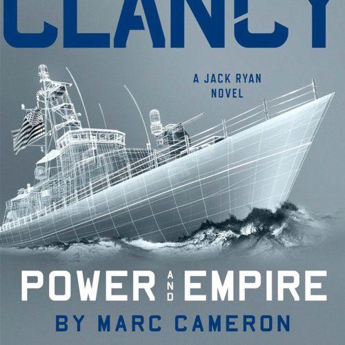 3d / cgi rendering Tom Clancy Novel cover
