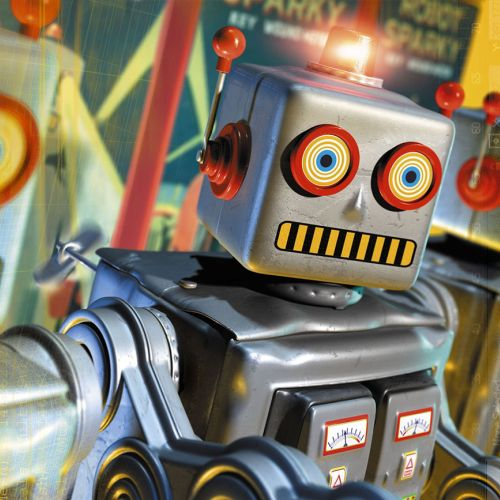 3d / cgi Robot