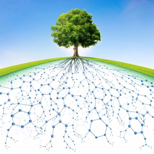 3D illustration of bio-pharmaceutical company