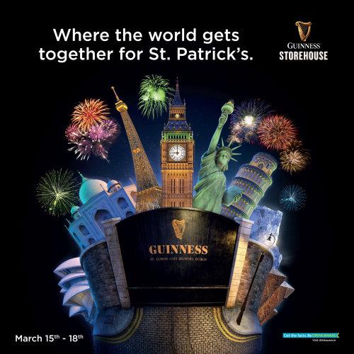 Affiche de la Saint-Patrick
