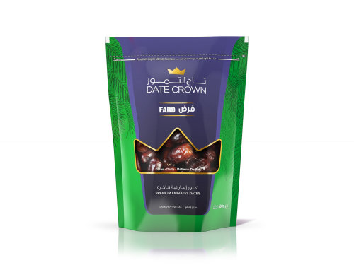 Packaging illustration Crown Dates packaging in UAE