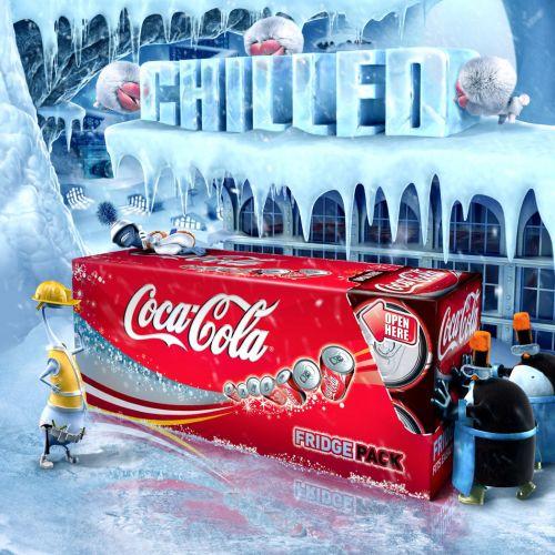 Conceptual cocacola campaign