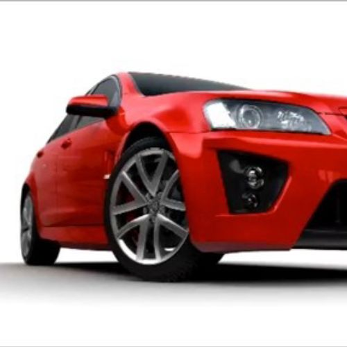 Vauxhall VXR Car animation