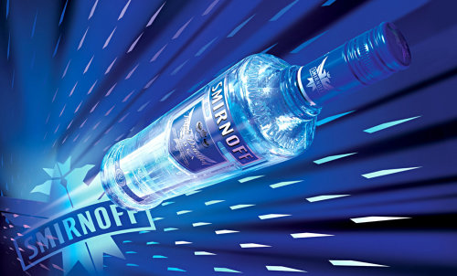 Product illustration for Smirnoff Vodka promotion