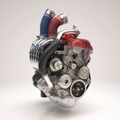 Computer Generated Heart Engine for Sudler & Hennessey