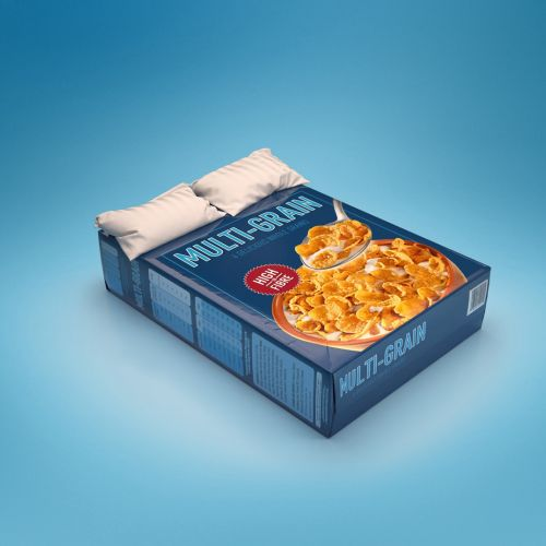 3d / cgi multigrain box