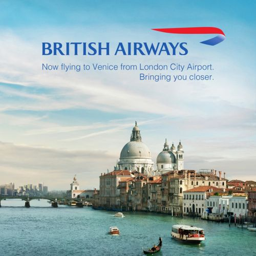 Architectural Poster for British Airways