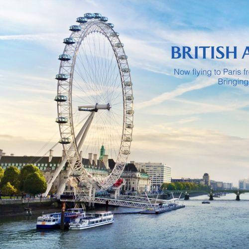 Poster for British Airways