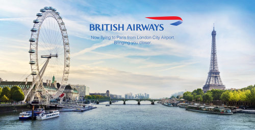 Poster for British Airways