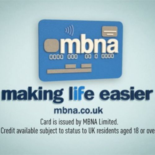 3D CG animation for MBNA TV Ad