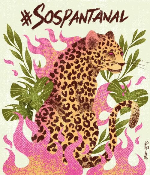 Ilustración de tigre animal salvaje