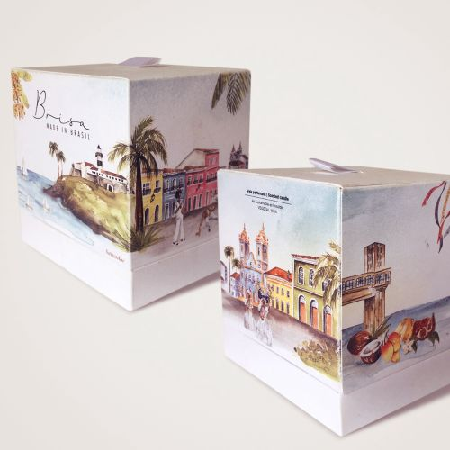 Candle packaging of Bahia