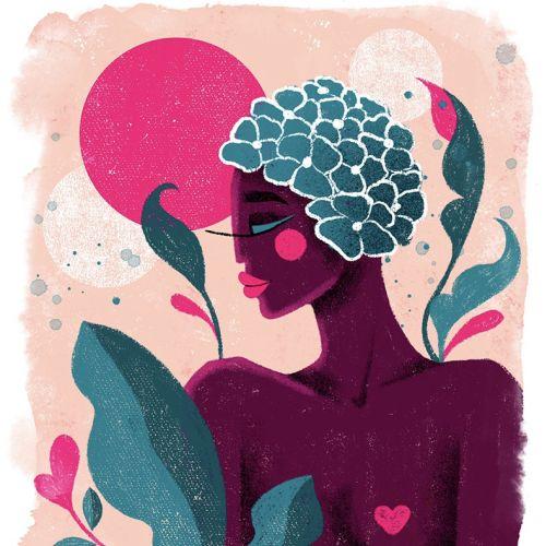 Camila Gray Personas Illustrator from Brazil