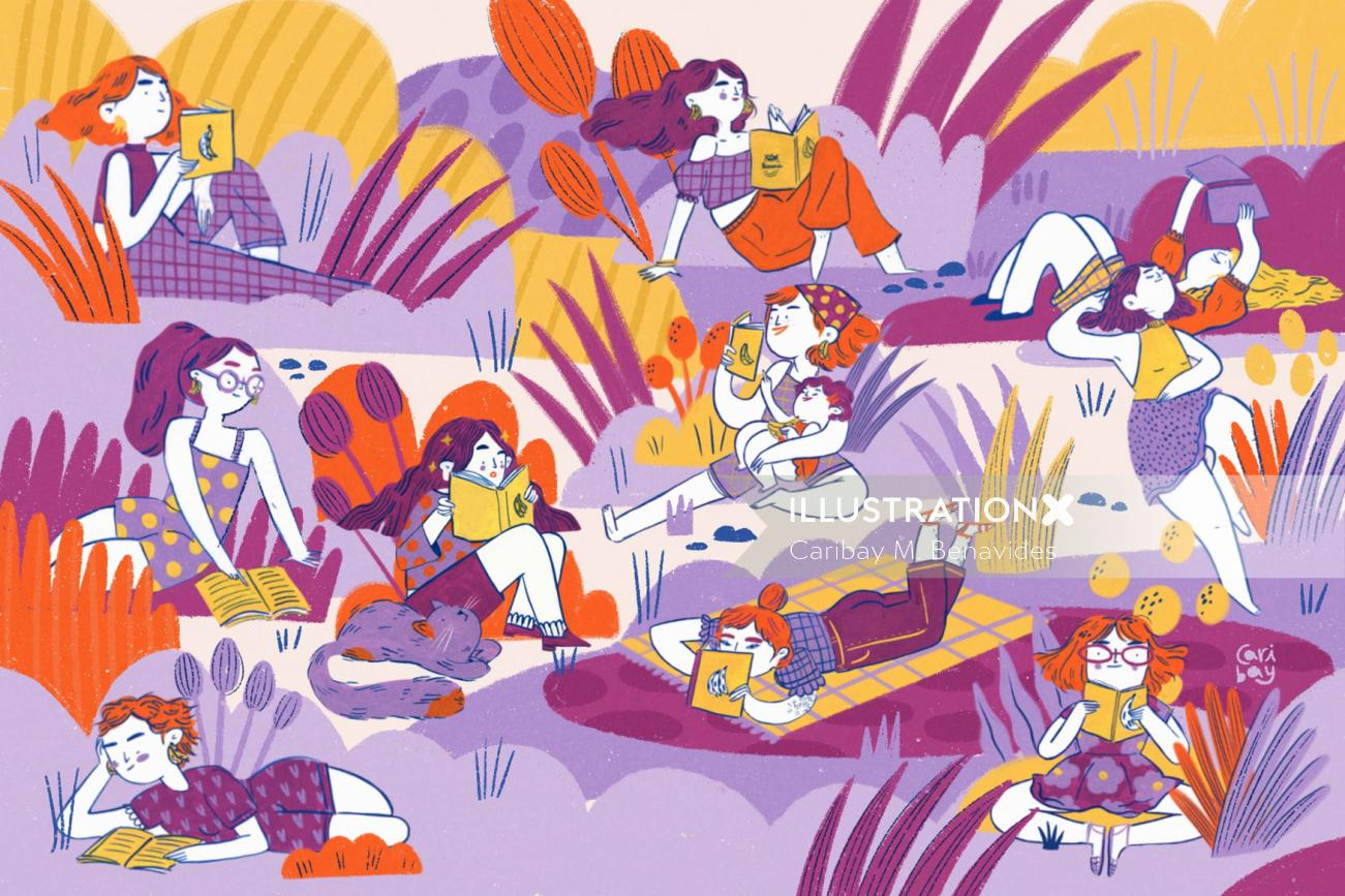 Illustration for Banana Libros infantiles