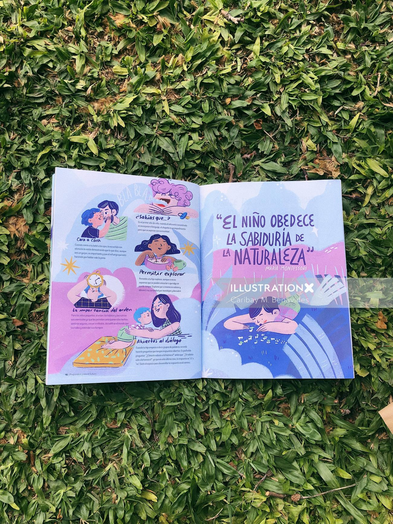 Illustration for Nutrilon and Montessori