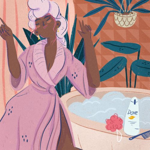 Gif illustration for Dove Argentina
