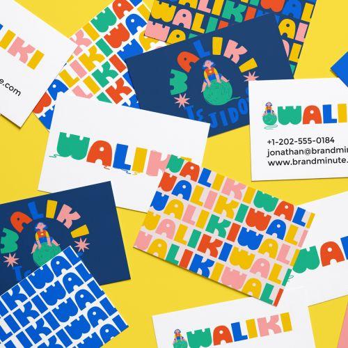 Waliki brand logo design by Caribay M. Benavides