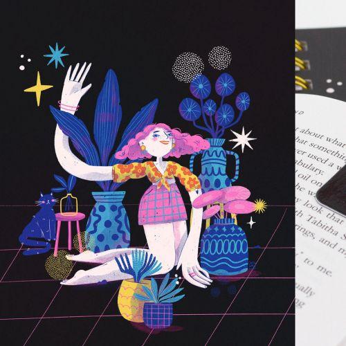 Graphic Stationary Illustrations