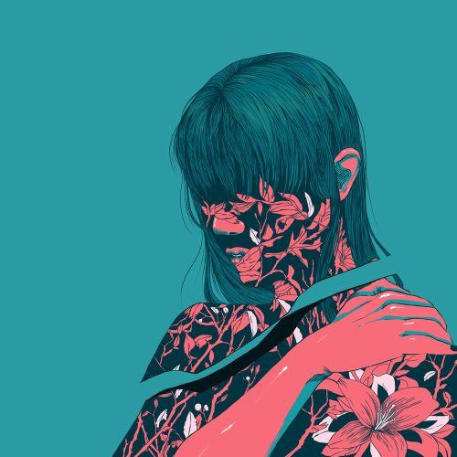 Surreal Portrait of Woman