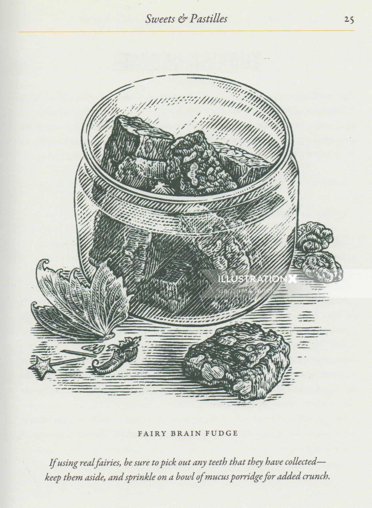 Food & Drink Fairy Brain Fudge