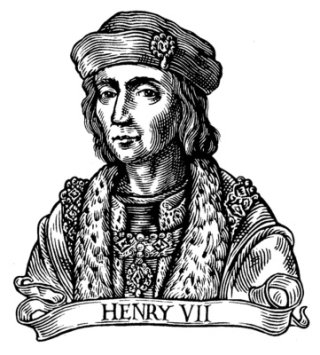 Black and white portrait of Henry