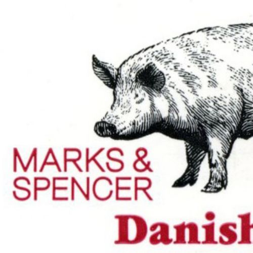 marks and spensor pig