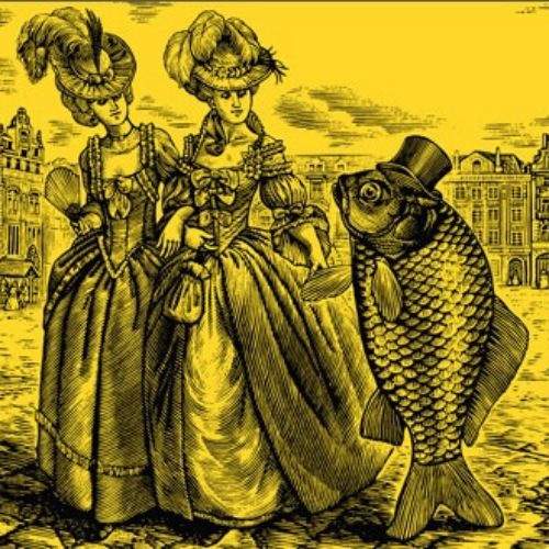 Historical women with Fish