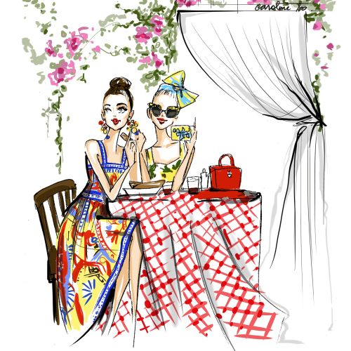 Caroline So Fashion Illustrator from USA