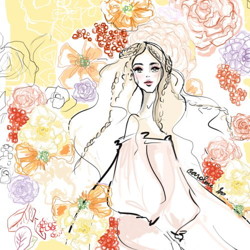 Caroline So Pessoas Illustrator from USA