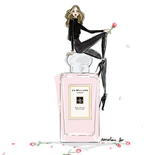 Perfume Bottle Pencil Sketch For Jo Malone