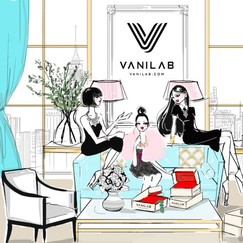 Girls Fashion Sketch For Vanilab