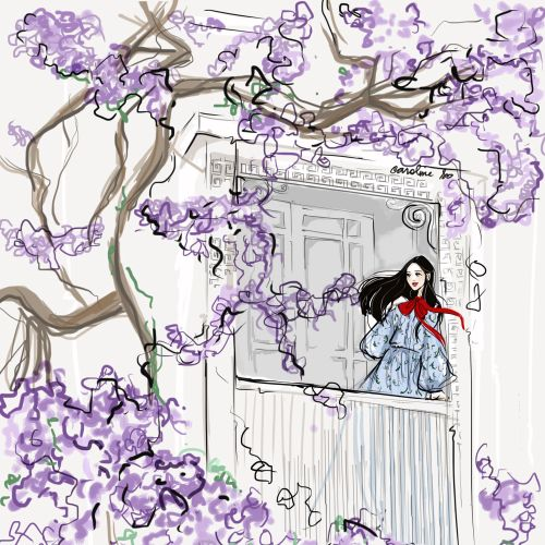 Caroline So Mode de vie Illustrator from USA