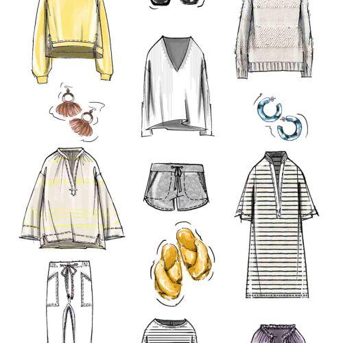 Illustration of clothing