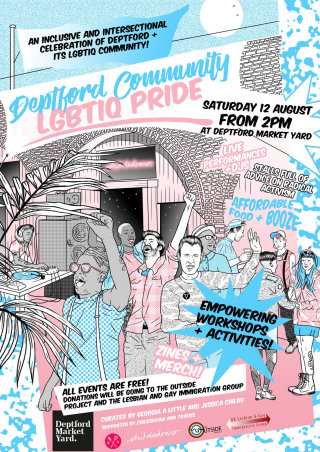 Deptford Community Pride Poster Design